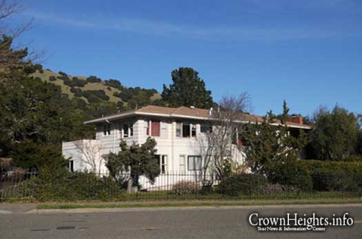 The Chabad House of Marin is seen in the Lucas Valley neighborhood of San Rafael, Calif.