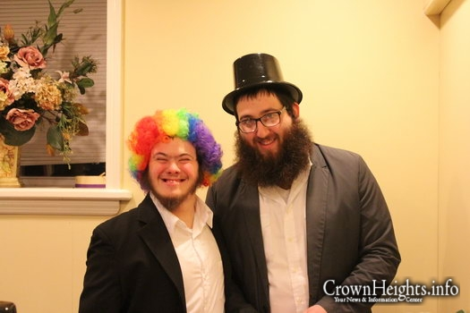 Photos: Friendship Circle Boys Own Megillah Reading
