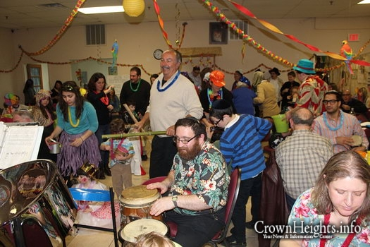Photos: Chabad of Atlantic City's Purim in Hawaii