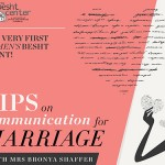 Motzai Shabbos: Communicating in a Marriage