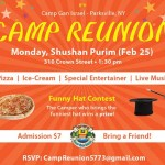 Shushan Purim: CGI NY Camp Reunion