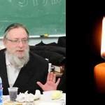 Boruch Dayan Hoemes: Rabbi Shaya Gansburg OBM
