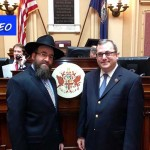 Video: Shliach Delivers Invocation at Virginia Senate