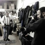 Picture of the Day: Came for Matzah, Got Tefillin