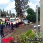 6 Dead, 3 Wounded Critically in Haifa Crash