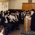 From Days Gone By: A Shiur in the 'Big Zal' in 770