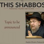 Shabbos at the Besht: To Be Annouced