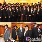 Historic Meeting with NJ Shluchim and State Legislators