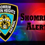 Shomrim Security Safety Alert