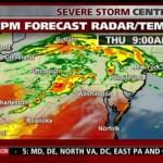 Rare 'Derecho' Storm Forecast to Soak East Coast