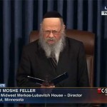 Video: Shliach Leads Senate Prayer on Gimmel Tammuz