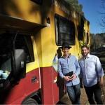 Rabbis Visit Rural Australia in Synagogue on Wheels