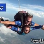 Video: Bike 4 Friendship Cyclists Go Skydiving