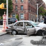 Violent Car Crash Injures Drivers