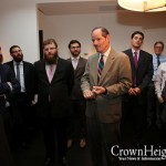 Eliot Spitzer Courts Young Crown Heights Voters