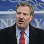 De Blasio New Frontrunner in Race for NYC Mayor