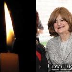 Boruch Dayan Hoemes: Mrs. Laya Block, 79, OBM