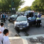 Three Injured in Eastern Parkway Crash