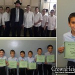 Well Behaved Students Receive Daled Minim Sets