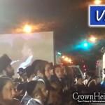 Video: Sholom Rubashkin Addresses Borough Park Simchas Beis Hashoeva from Prison