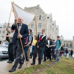 Ann Arbor Welcomes Torah with Parade, Music and Dancing