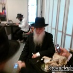Picture of the Day: Baba Sali's Nephew in Crown Heights
