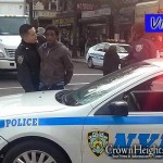 Assailant Apprehended by Police and Bystanders