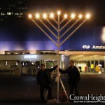 Picture of the Day: Chanukah on the Zuidas