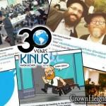 #Kinus: Selfies, Farbrengens and Inspirational Humor