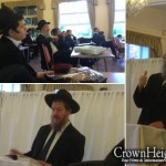 Mancunians Utilize Day Off Work for Torah