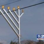 Salt Lake City Public Menorah Vandalized