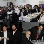 Rabbi O's Yeshiva Farbrengs with Local Community