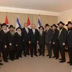 Prime Ministers Take Time Out with Chabad Rabbis