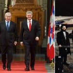 Shluchim Join Canada's Prime Minister on Israel Visit