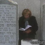 Picture of the Day: Deputy Minister at the Ohel