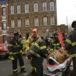 Eight Injured in Eastern Parkway Building Collapse