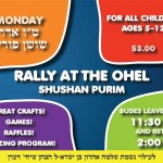 Monday: Rally at the Ohel