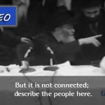 Video: Reporter Asks the Rebbe for an Interview