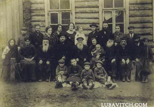 Family of Rabbi Benzion and Elka Chanowitz.