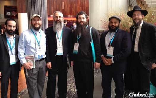 Eight Chabad camp directors attended the Foundation for Jewish Camp's Biennial Leaders Assembly.