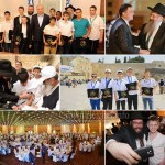 113 Orphans Celebrate Bar Mitzvah at the Kotel