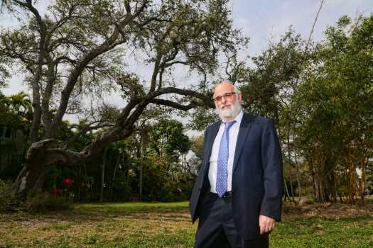 Rabbi Ruvi New, director of Chabad of East Boca Raton, FL.