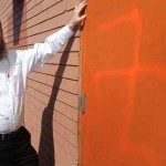 Canada Chabad House Defaced with Anti-Semitic Graffiti