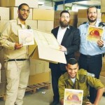 Chabad Delivers 200,000 Matzos to IDF Soldiers