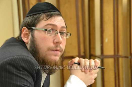 Rabbi Yehuda Matusof. Photo: Shturem.net.