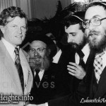 From Days Gone By: Senator and Chasidim Rub Elbows