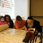 New Torah Celebrates 360 Years of Jews in America