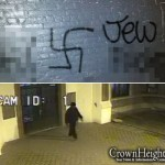 Video Shows Suspect Wanted for Anti-Semitic Graffiti