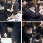 Rare Footage of the Rebbe Doing Havdalah