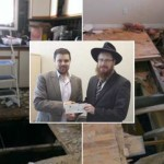Community Comes to Shliach's Aid After Fire